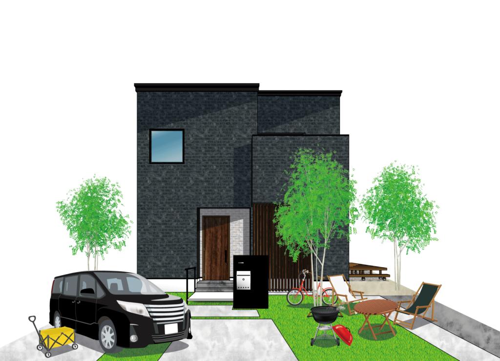 住宅完成イメージイラスト2
